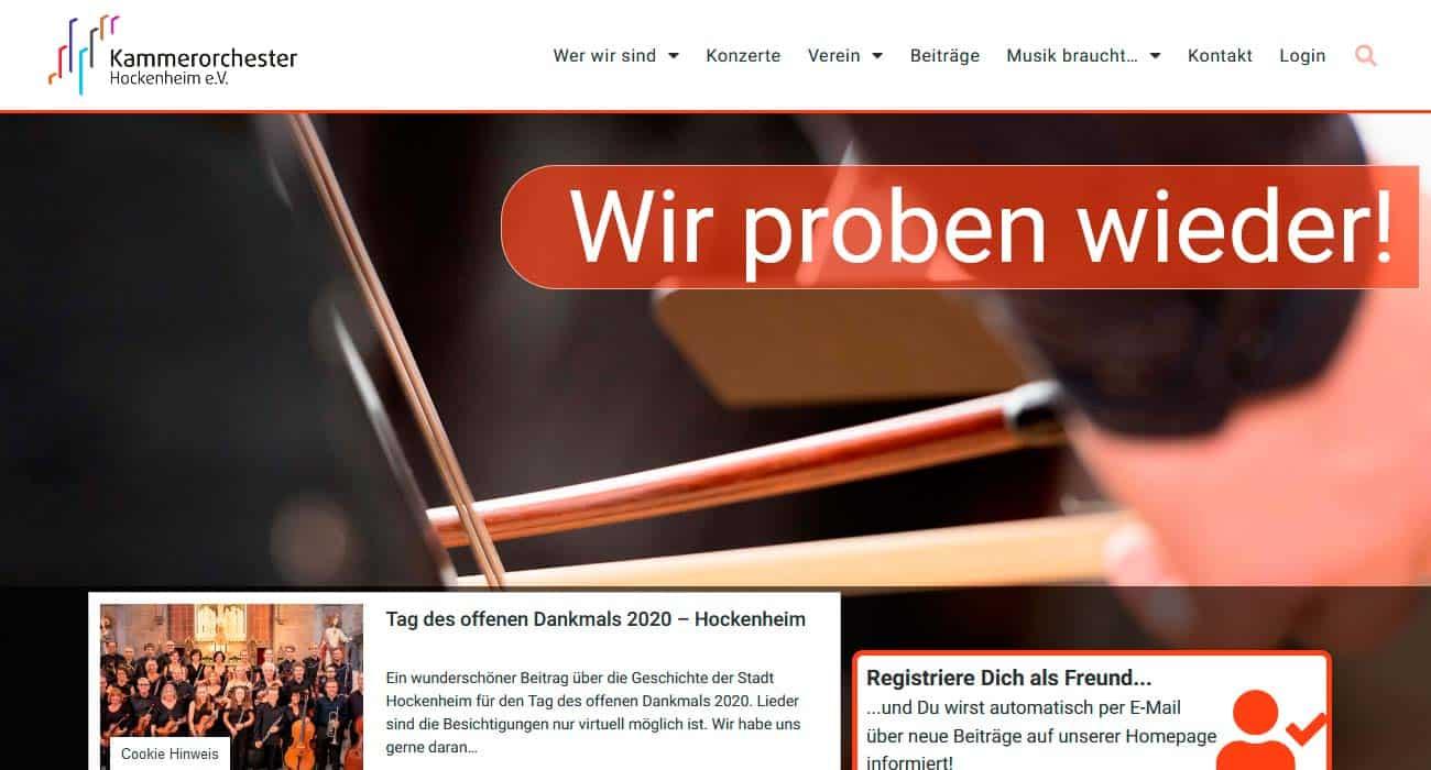 Kammerorchester Hockenheim