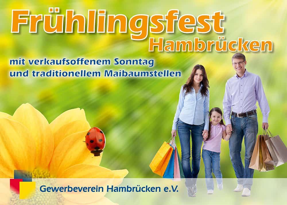 Werbeplane Gewerbeverein Hambrücken